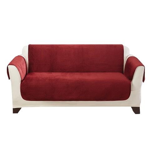 Elegant Pick Stitch Loveseat Furniture Cover Sure Fit Target