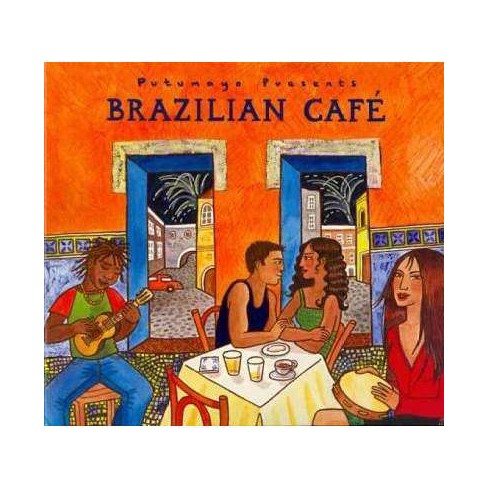 Walter Various Artists; Payton - Putumayo Presents: Brazilian Cafe (digipak) (CD) - image 1 of 1