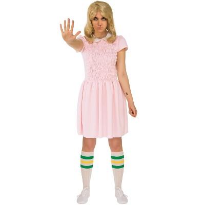 Stranger Things Eleven Dress Adult Costume