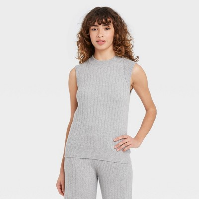 Women's Crewneck Pullover Sweater Vest - Who What Wear™