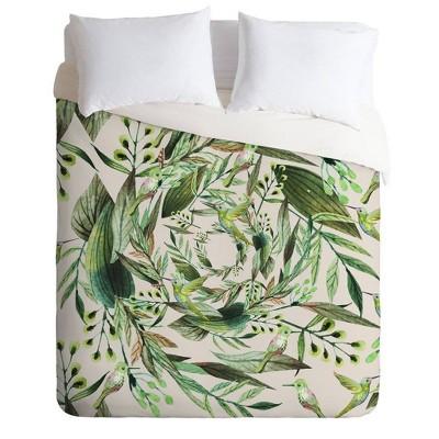 Marta Barragan Camarasa Nature in Circles Comforter & Sham Set - Deny Designs