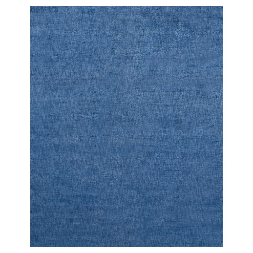 4'X6' Solid Woven Area Rugs Royal - Room Envy, Purple