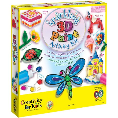 Creativity for Kids Sparkling 3D Paint Activity Kit - image 1 of 4
