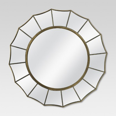 Round Decorative Wall Mirror - Threshold™