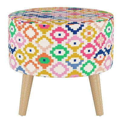 Riverplace Round Ottoman with Splayed Legs - Project 62™