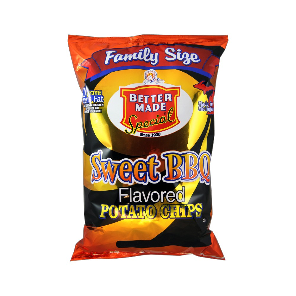 Better Made Special Sweet Bbq Flavored Potato Chips - 10oz