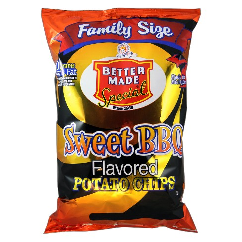 Better Made Special Sweet BBQ Flavored Potato Chips - 10oz - image 1 of 1