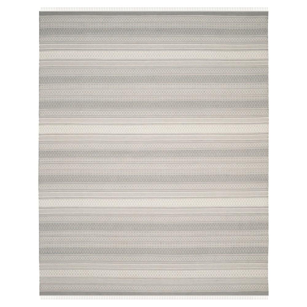Kilim Rug - Gray - (8'x10') - Safavieh
