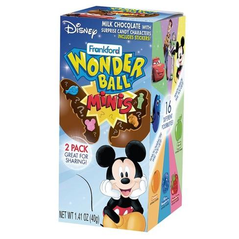 Frankford Disney® Mickey Mouse & Friends Wonder Ball Milk Chocolate Minis - 1.41oz - image 1 of 1