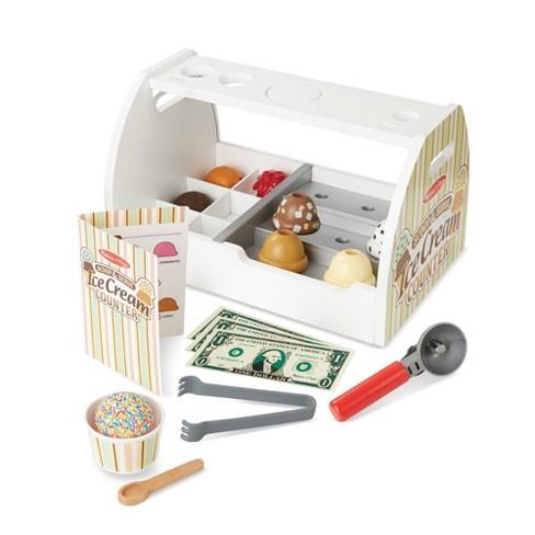 Melissa & Doug Scoop & Serve Ice Cream Counter - image 1 of 4