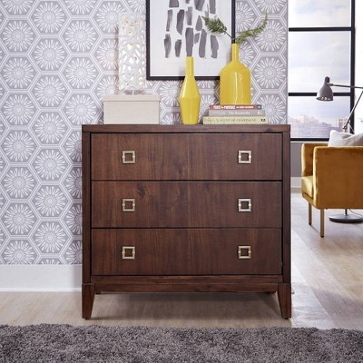 Bungalow Drawer Chest Medium Brown - Home Styles