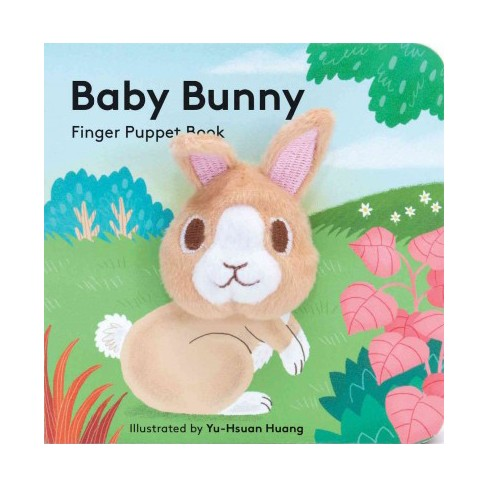 Baby Bunny: Finger Puppet Book - (Board_book) - image 1 of 1