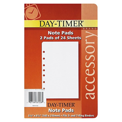 Day-Timer® Lined Pages, 5 1/2 x 8 1/2 - image 1 of 1