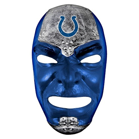 Indianapolis Colts Franklin Sports Fan Face Mask - image 1 of 1