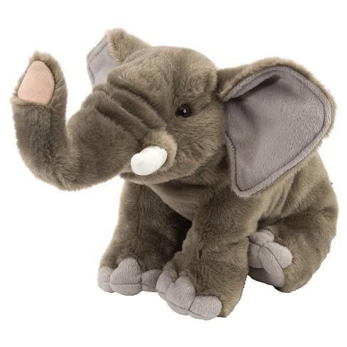 Girls Elephant Stuffed Animal Gray Target