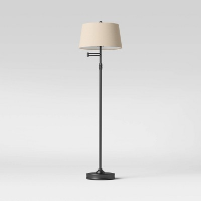 Swing Arm Floor Lamp (Includes LED Light Bulb) - Threshold™