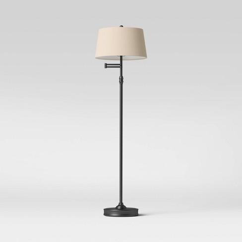 Swing Arm Floor Lamp (Includes LED Light Bulb) - Threshold™ - image 1 of 4