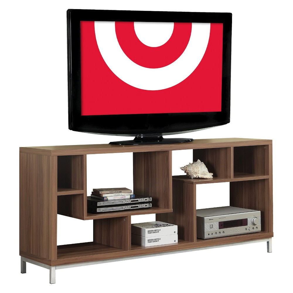 TV Console - Walnut (Brown) - EveryRoom