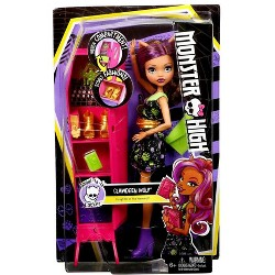 Monster High Ghoul-la-la Locker Clawdeen Wolf Doll