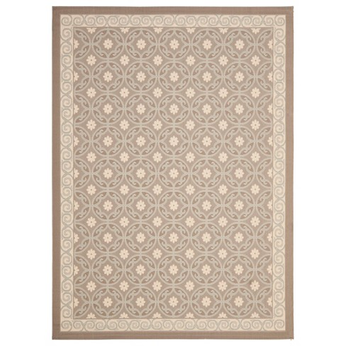 Ainsworth Rug 8'X11' - Dark Beige/Beige - Safavieh® - image 1 of 2