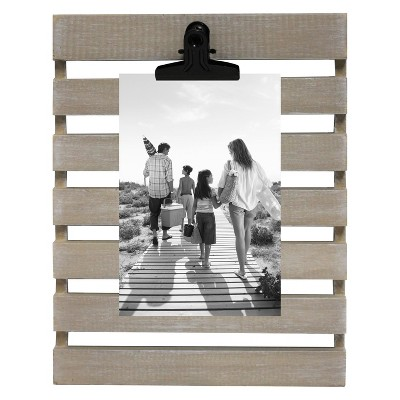 4 X6  Photo Wedge Frame Natural - Threshold™