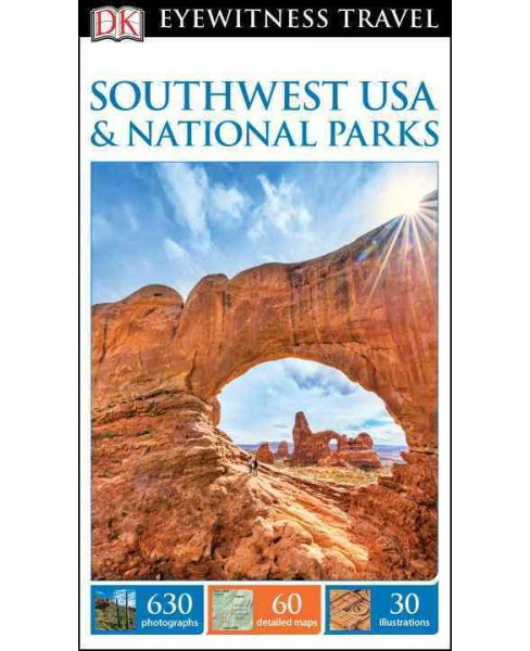 Dk Eyewitness Southwest USA & National Parks (Paperback) - image 1 of 1