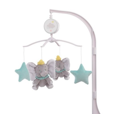 Disney Dumbo Shine Bright Little Star Musical Mobile - Aqua/Gray/Yellow
