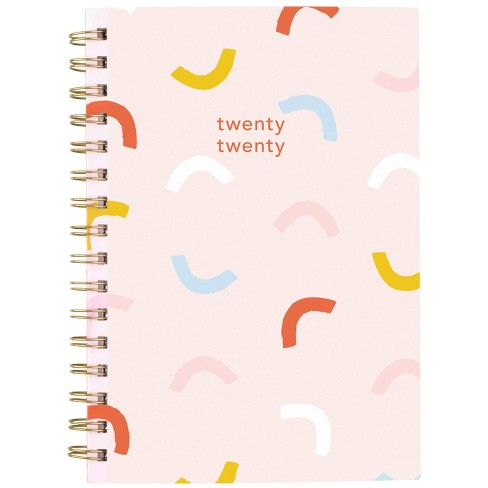 """2020 Planner 8.5""""x 6.375"""" Pink Confetti - Knot + Bow for Cambridge - image 1 of 4"""