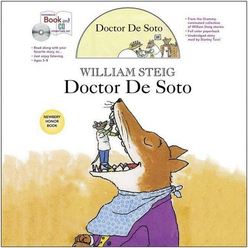 Doctor de Soto Book and CD Storytime Set - (Paperback Book and CD Storytime Set) by  William Steig - image 1 of 1
