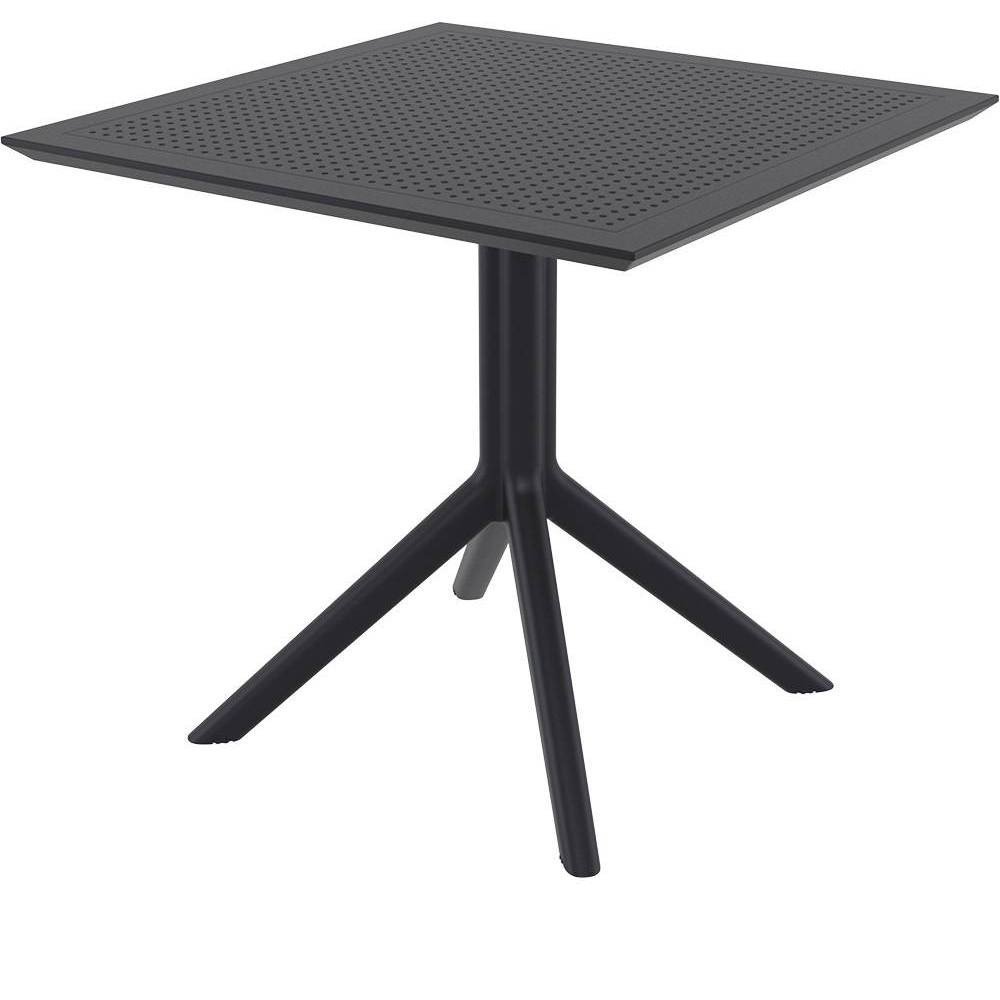 "Image of ""31.5"""" x 31.5"""" Sky Patio Table - Black - Resol"""