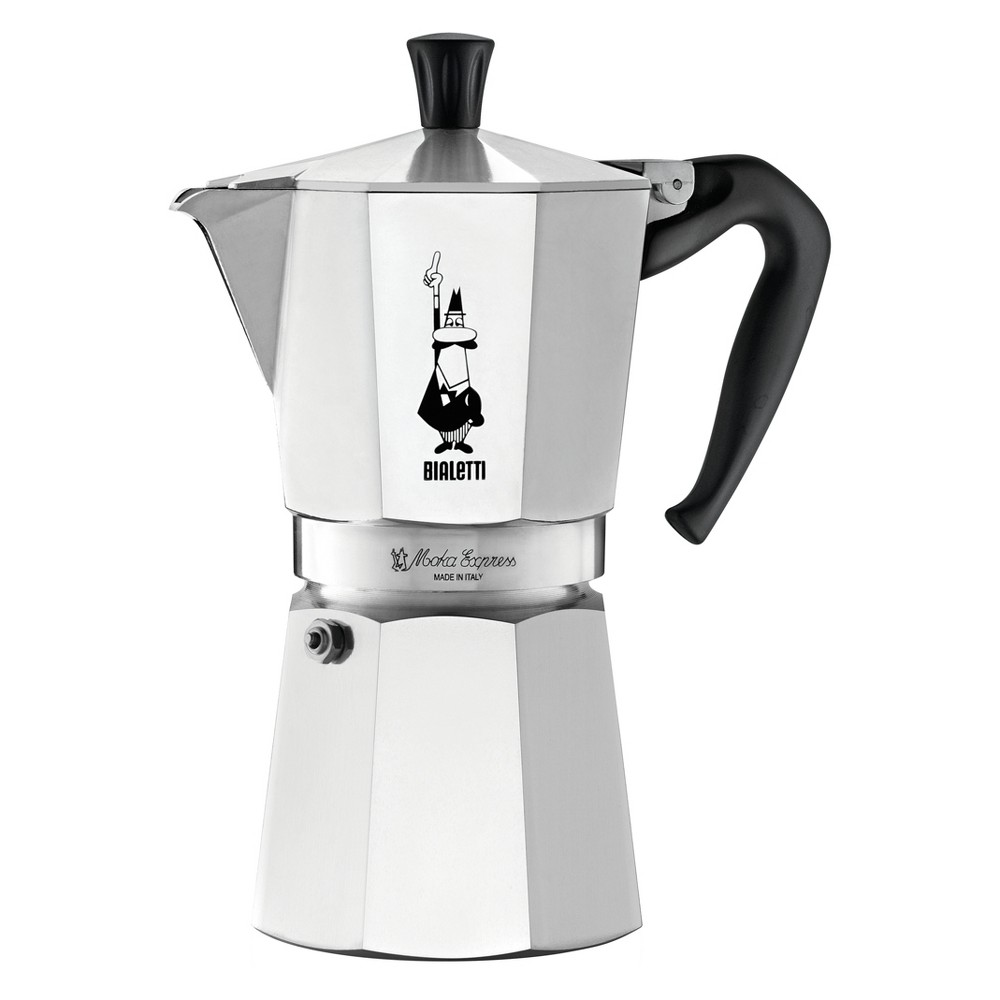 Image of Bialetti Stovetop Coffee Maker - Silver