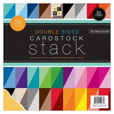 Scrapbook Page Multicolored Die Cuts With A View