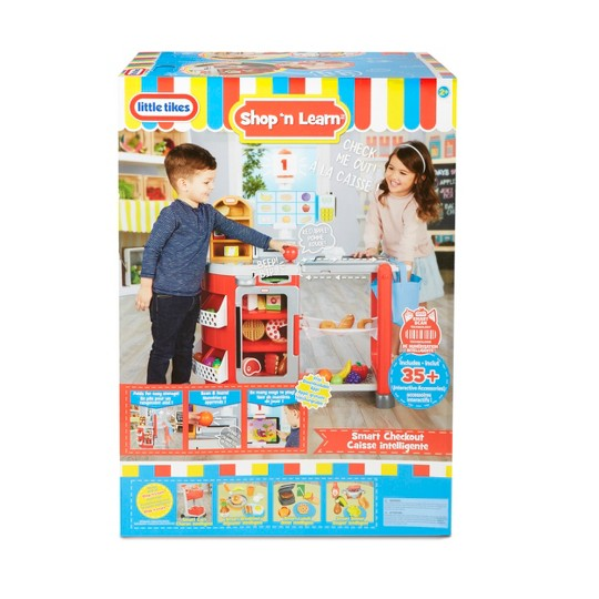 Little Tikes Shop 'n Learn Smart Checkout Role Play Toy image number null
