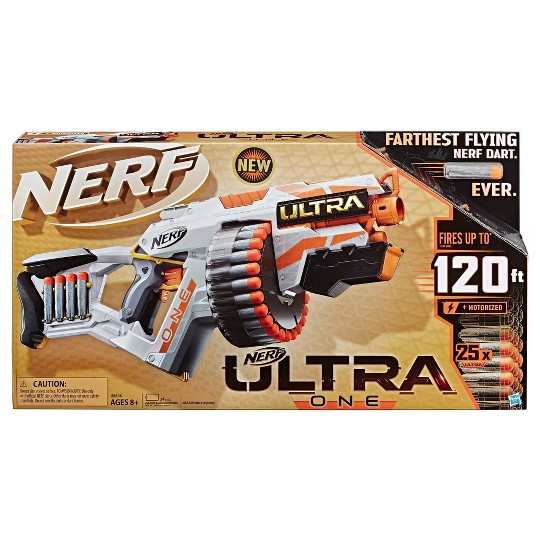NERF Ultra One Motorized Blaster with 25 Nerf Ultra Darts image number null