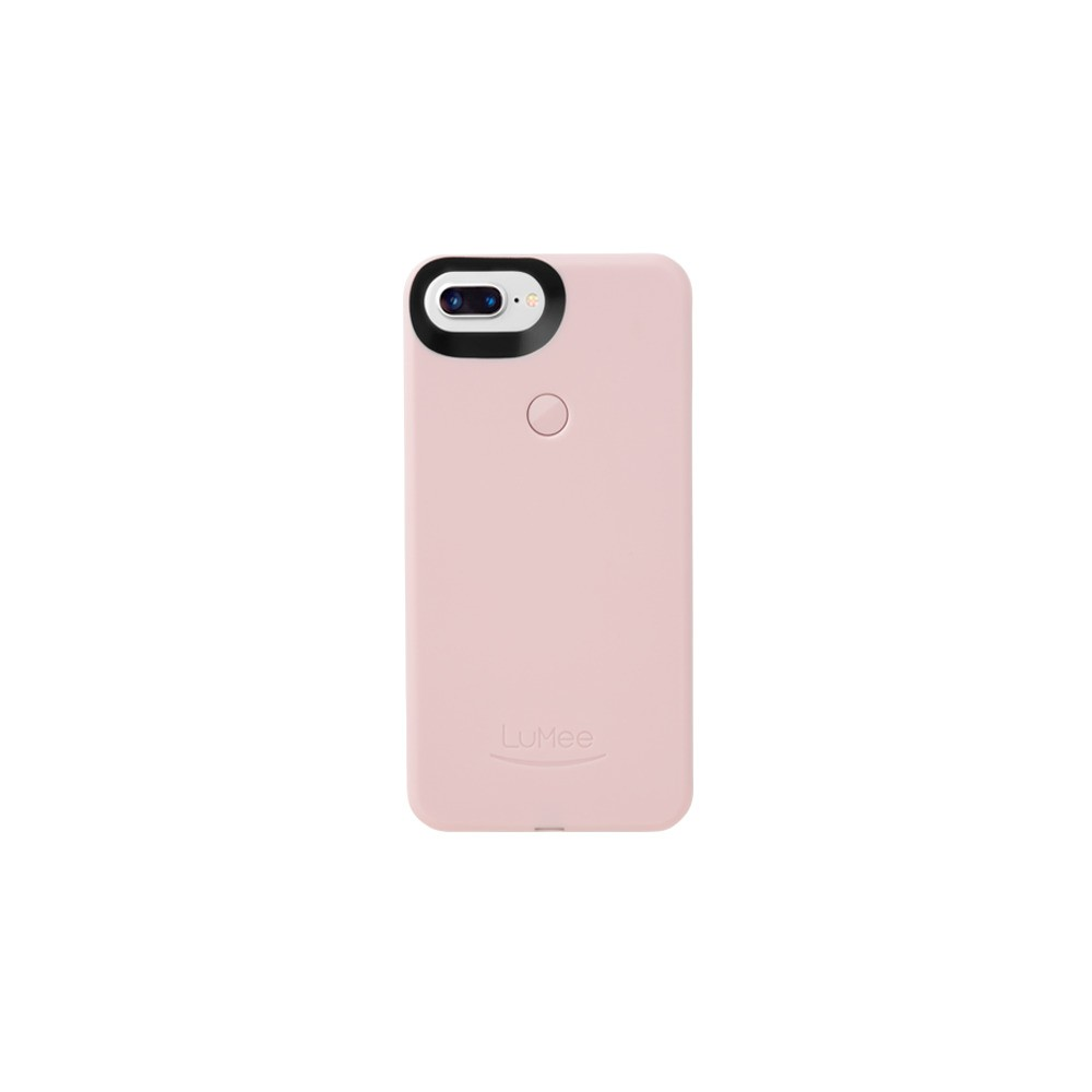 LuMee Apple iPhone 8 Plus/7 Plus/6s Plus/6 Plus Selfie Case - Ballet Pink