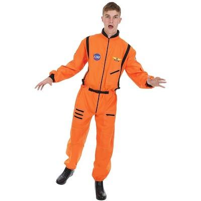 Orion Costumes Men's Orange Astronaut Costume