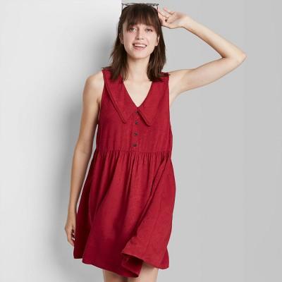 Women's Sleeveless Babydoll Dress - Wild Fable™