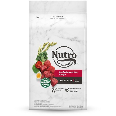 Nutro Wholesome Essentials Beef & Brown Rice Recipe Adult Dry Dog Food
