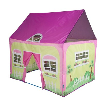"""Pacific Play Tents Lil' Cottage House Kids Play Tent 50"""" x 40"""""""