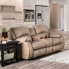 McCollum Upholstered Loveseat with Console Power Recliner - HOMES: Inside + Out - image 2 of 4