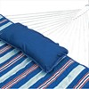 12' Cotton Rope Hammock, Stand, Pad & Pillow Combination Set - Blue - Algoma - image 3 of 4