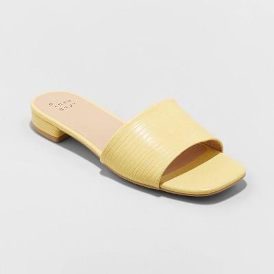 Women's Summer Dress Slide Sandals - A New Day™