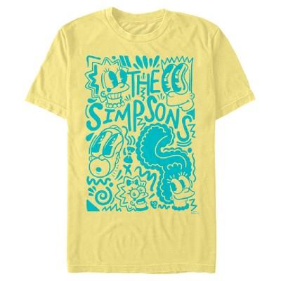 Men's The Simpsons Pop Art Family T-Shirt