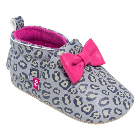 Baby Girls' Surprize by Stride Rite® Jessica Moccasin Soft Sole Shoes - Brown 0-6M - image 1 of 4