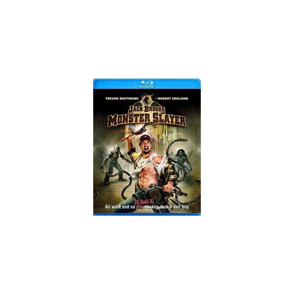 Jack Brooks Monster Slayer Blu Ray