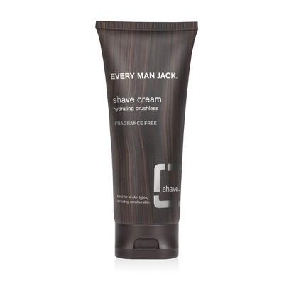 Every Man Jack Sensitive Skin Shave Cream - 6.7oz