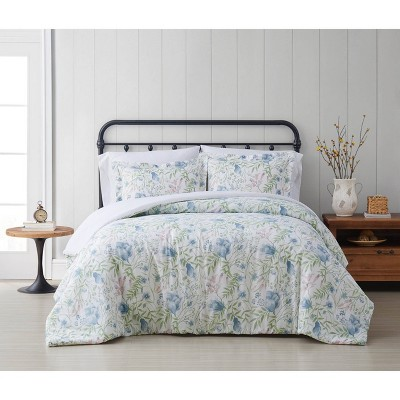 Cottage Classics Field Floral Comforter Set