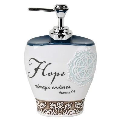 Karma Ceramic Lotion Dispenser - Natural - (10.14oz)- Saturday Knight Ltd