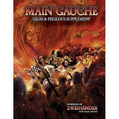 Main Gauche Grim & Perilous Supplement - by  Daniel D Fox (Hardcover)