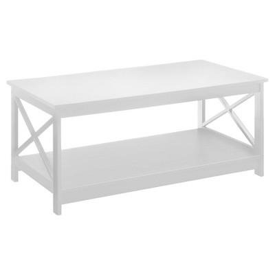 Oxford Coffee Table White - White - Convenience Concepts